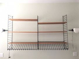 "Bokhyllan ""The Ladders Shelf"" designed by Nisse Strinning."