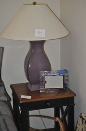 TABLE LAMP and DECOR only for saturday purchase