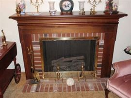 Electric Fire Place (can be converted to gas)