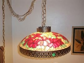 I of 2 Hanging Lamps