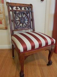 Unusual antique chair