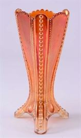 Lot 3:  Graduated Imperial Glass Carnival Vase