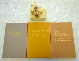 Lot 11:  Benjamin Franklin 3 Typophile Monographs