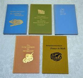 Lot 12:  Benjamin Franklin 5 Keepsake Books