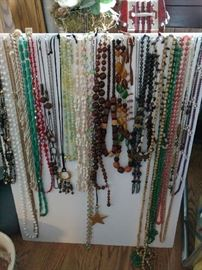 Lots and lots of jewelry!