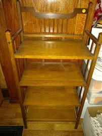 Mission style book shelf