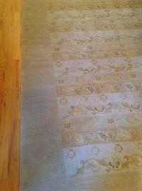 Detail of Odegard Tibetan carpet