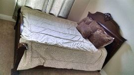 Queen bed 200 with new matress