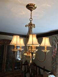 Lenox chandelier