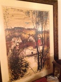 Signed prints from famous artist Michel DeGallard, original oils and more!