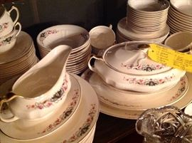 Antique dinner service for 12 includes many serving pieces!