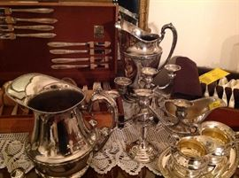 Lots of silver and silver plate to choose from!