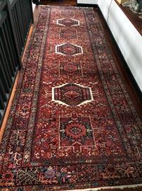 Antique Oriental Carpet, 13ft 7in x 4ft 7in