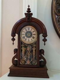 One of three mantle & wall clocks (repos).