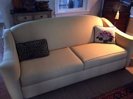 Broyhill sofa with matching love seat.