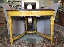 JOHN WIDDICOMB Louis XVI style dining table