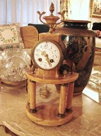 French working clock
