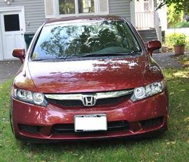 2010 Honda Civic Front View