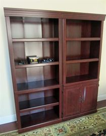 Pair of bookcases ...match executive desk