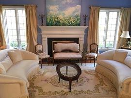 Elegant home furnishings.