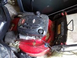 Toro lawnmower. Cleans up nice!