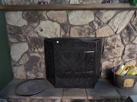 FIREPLACE SCREEN FROM SOUTHERN LIVING AT HOME. RETAIL WAS $180