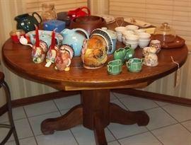 Vtg. Kitchen & Pub Table