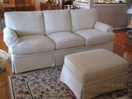 sofa and ottoman