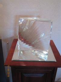 "Large Swarovski ""Ray"" Sculpture"