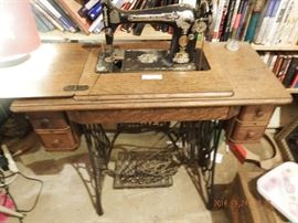 Ackworth Location Singer sewing machine with stand $250.00