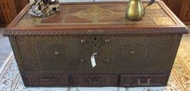 Antique chest from Kuwait