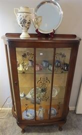 Art Deco curio cabinet