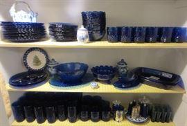 Avon Sapphire dishes