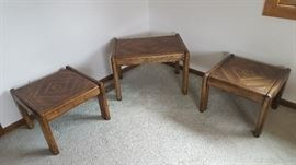 Fine, mid-century three-piece set. Will also sell individually.