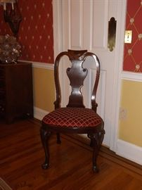 Queen Anne Chairs by Baker