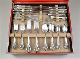 Wallace Grande Baroque sterling flatware set