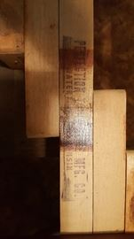 Perfection Table Slide Mfg Co. Watertown Wisconsin.  This is the detail photo from the Duncan Phyfe