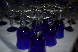 Colbalt Blue Glassware