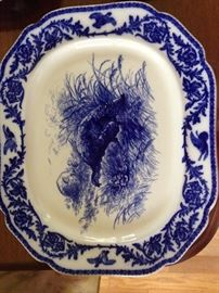 Wedgewood Turkey Platter, hard to find in perfect condition  1,000.00       # 703