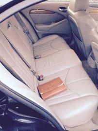 SEATS IN EXCELLENT SHAPE, ORIGINAL CAR MANUAL,