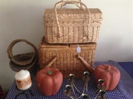 Baskets Pumpkins