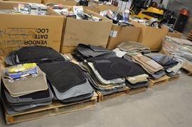 Car mats. Auto accessories