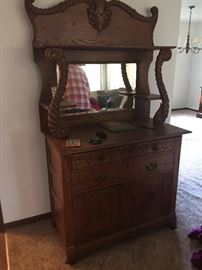 Antique Buffet in exceptional condition.