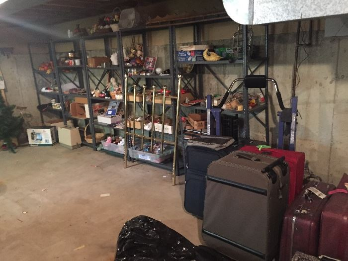packed basement Crafting, Christmas, and everyday kitchen