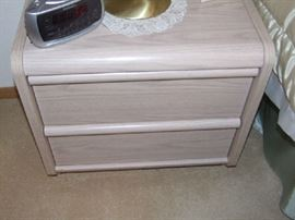 SMALL END TABLE. POSSIBLE MATCH TO THE MCM DRESSER