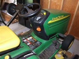 DIFFERENT ANGLE OF LAWN MOWER TRACTOR