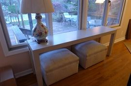 Sofa/Console Parsons Table