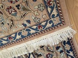 detail: Nain rug