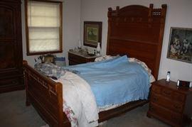 Beautiful antique Eastlake bed