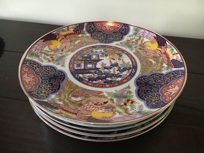 Imari Plates -- we will also have old ones as well!
